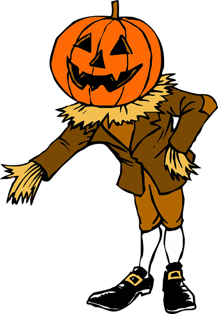 Anime Girl Thanksgiving Wallpaper Costume Halloween Pumpkin 183 Free Vector Graphic On Pixabay