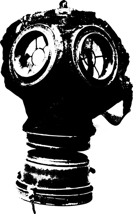 Gas Mask Girl Wallpaper Gas Mask Toxic 183 Free Vector Graphic On Pixabay
