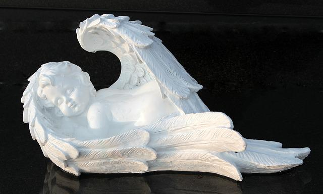 Black Marble Wallpaper Free Photo Angel Angel Figure Symbol Free Image On