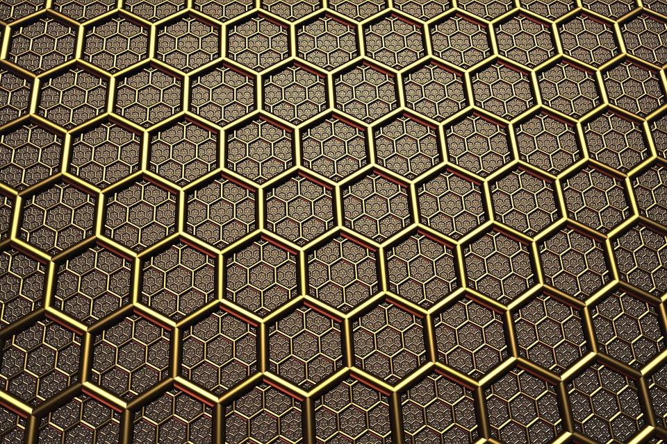Fall Foliage Computer Wallpaper Background Texture Hexagon 183 Free Image On Pixabay