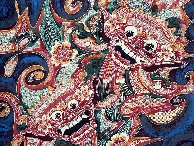 Wallpaper Of Water Fall Indonesia Bali Batik 183 Free Image On Pixabay
