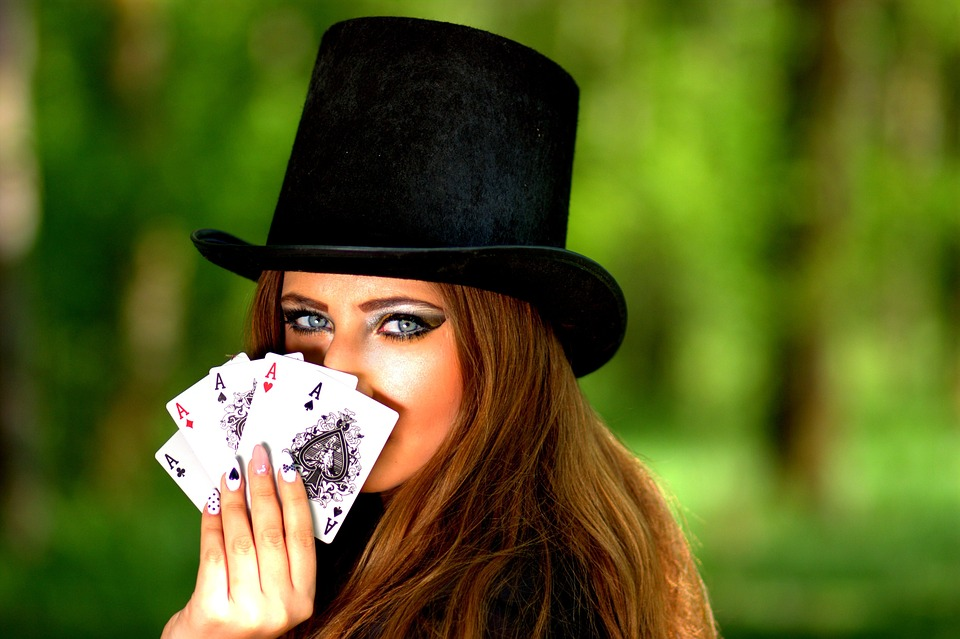 Black Magician Girl Wallpaper Free Photo Girl Topper Playing Cards Luck Free Image