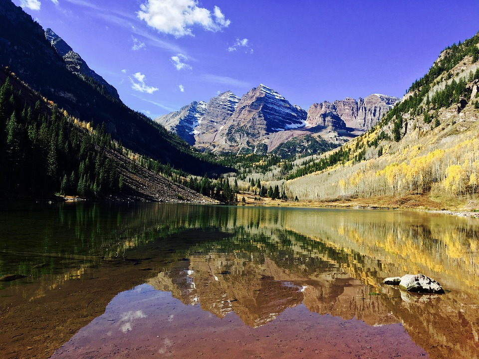 Fall Wallpaper For Iphone 6 Plus Aspen Maroon Bells Colorado 183 Free Photo On Pixabay