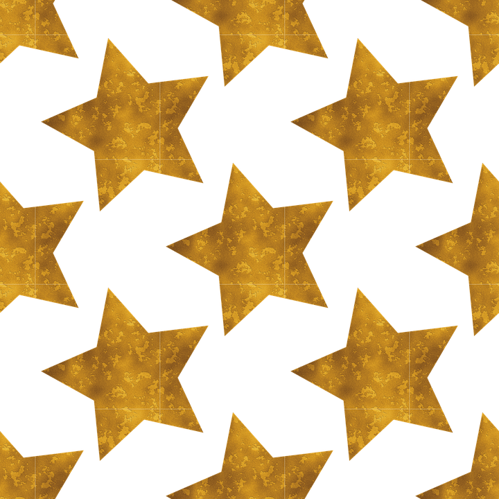 Leaves Wallpaper Fall Stars Gold Rust 183 Free Vector Graphic On Pixabay