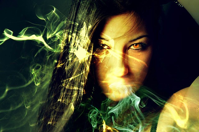 Beautiful Face Girl Wallpaper Free Photo Magician Sorceress Magic Free Image On