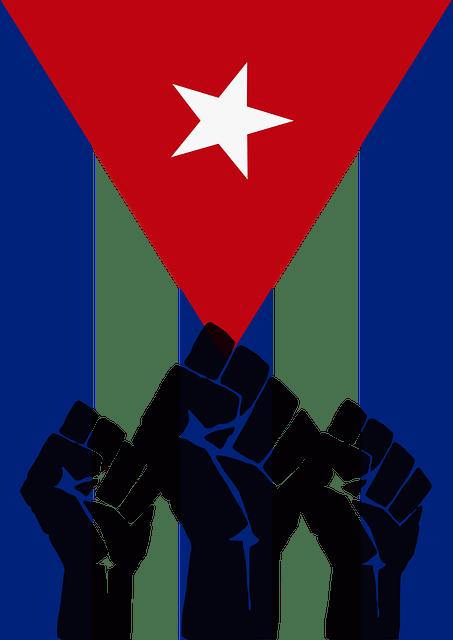 Red Car Wallpaper Download Free Vector Graphic Cuba Revolution Fist Cuban Flag