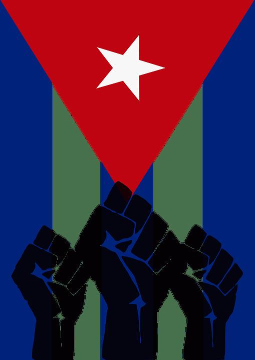 Car Wallpaper 3d Download Free Vector Graphic Cuba Revolution Fist Cuban Flag