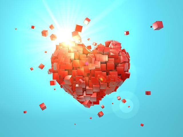 Black Wallpaper 4k Free Illustration Heart Explosion Valentine S Day