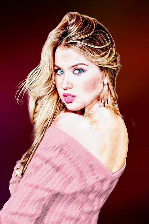 Wallpaper Girl Wallpaper Women Blond Hair Draw Painting 183 Free Image On Pixabay