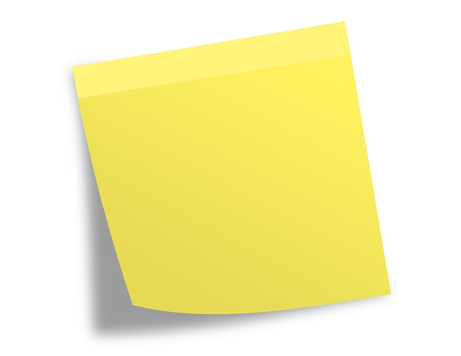 Post It Note Memo · Free image on Pixabay