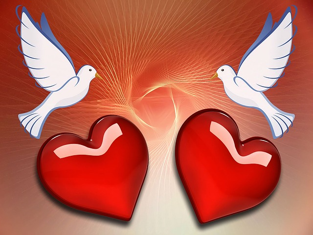 I Love You Heart Wallpaper 3d Animation Free Illustration Dove Heart Love Background Free