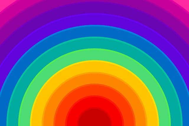 Black Rose Wallpaper Free Illustration Rainbow Background Colorful Free
