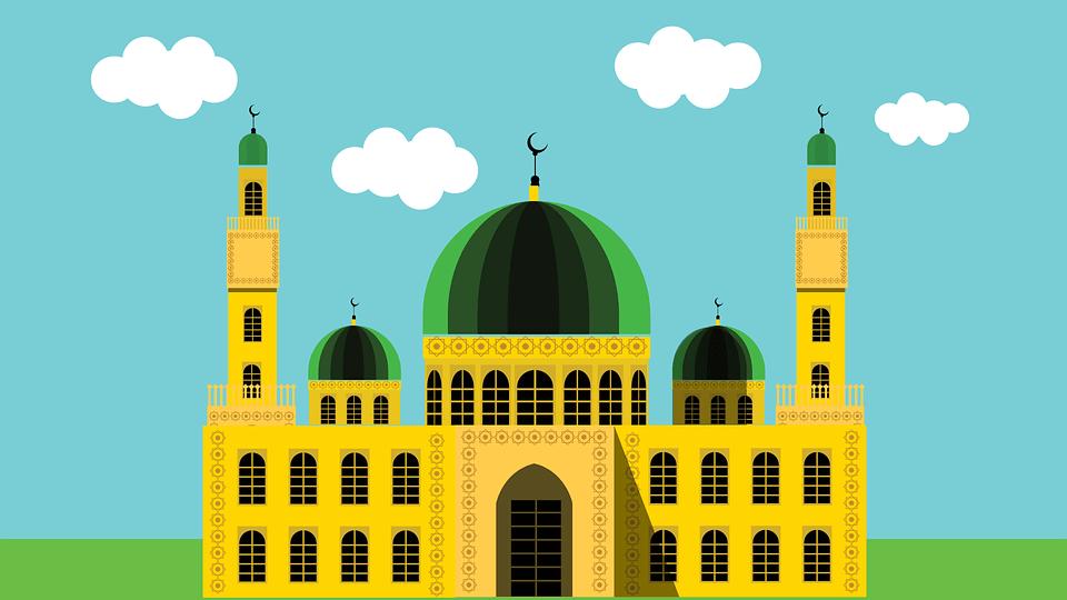 Beautiful Muslim Girl Hd Wallpaper Mosque Masjid Islam 183 Free Vector Graphic On Pixabay