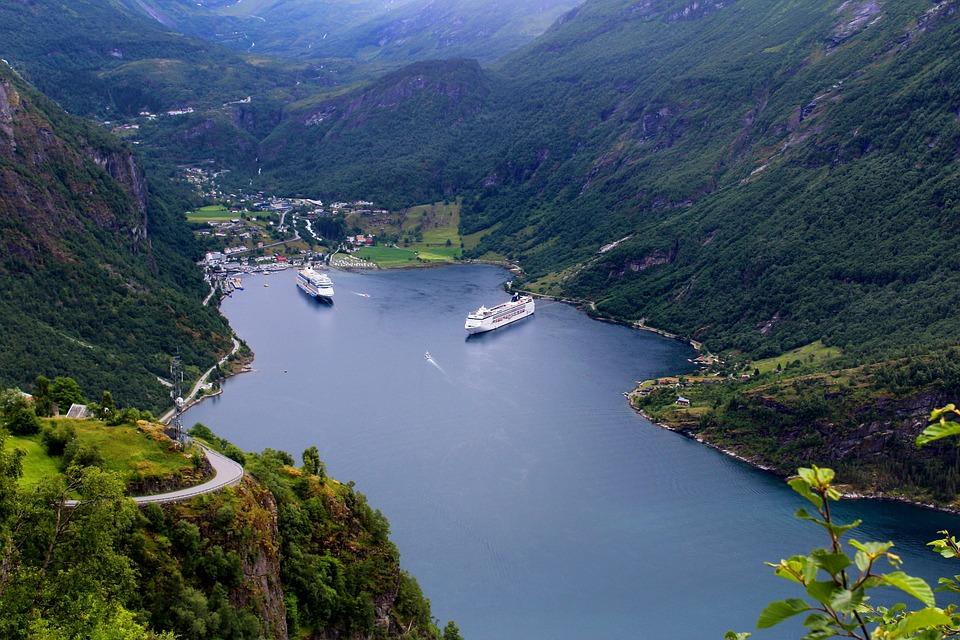 Geiranger Norwegian Fjord · Free photo on Pixabay - fjord