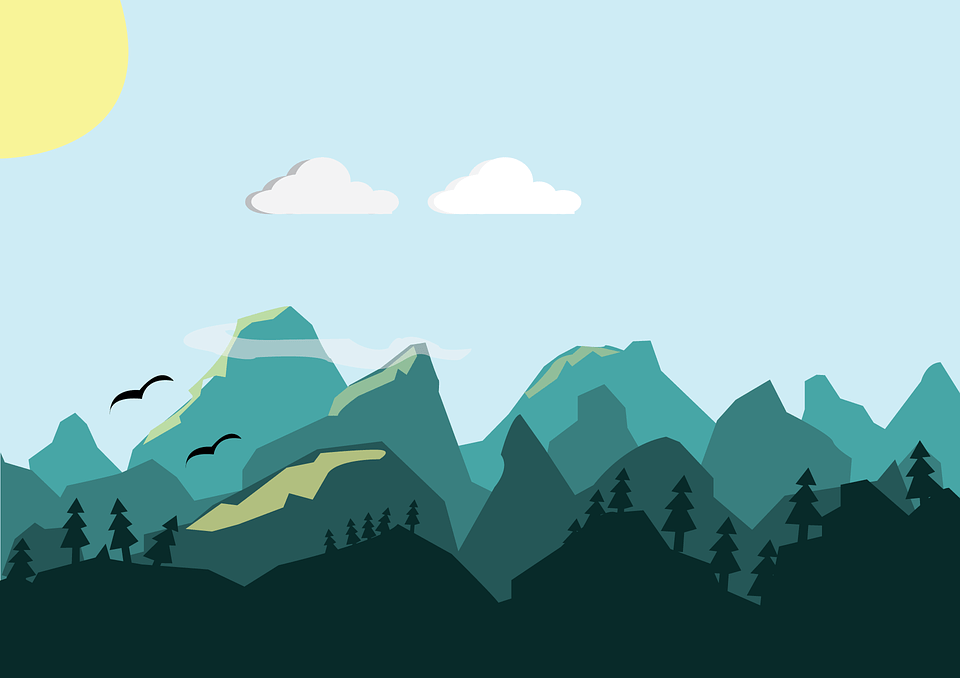 Car In Forrest Hd Wallpaper Mountains Hills Vector 183 Free Image On Pixabay
