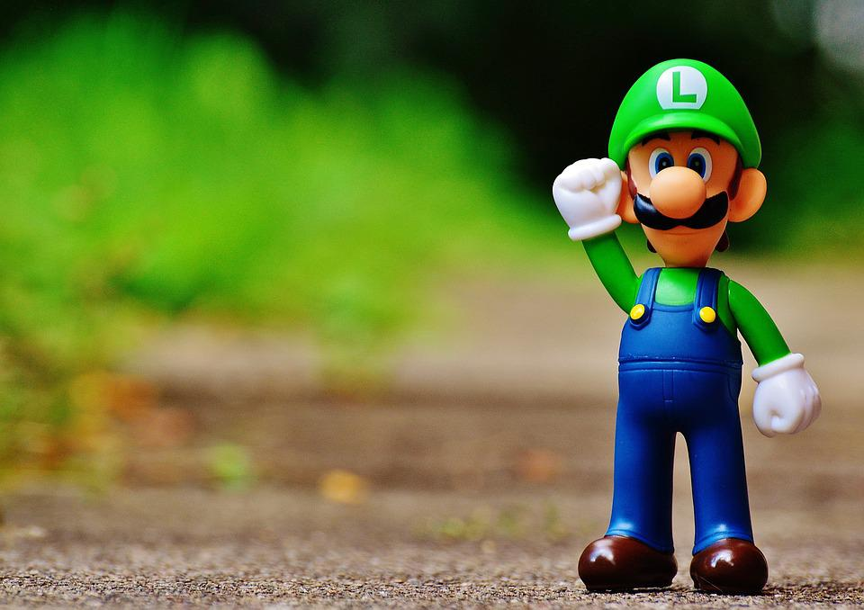 Animation Wallpaper Hd Free Download Free Photo Luigi Figure Play Nintendo Free Image On