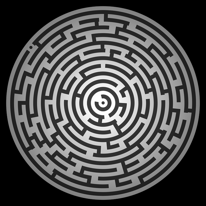 Vertical Wallpaper Hd Free Vector Graphic Maze Puzzle Riddle Quiz Free