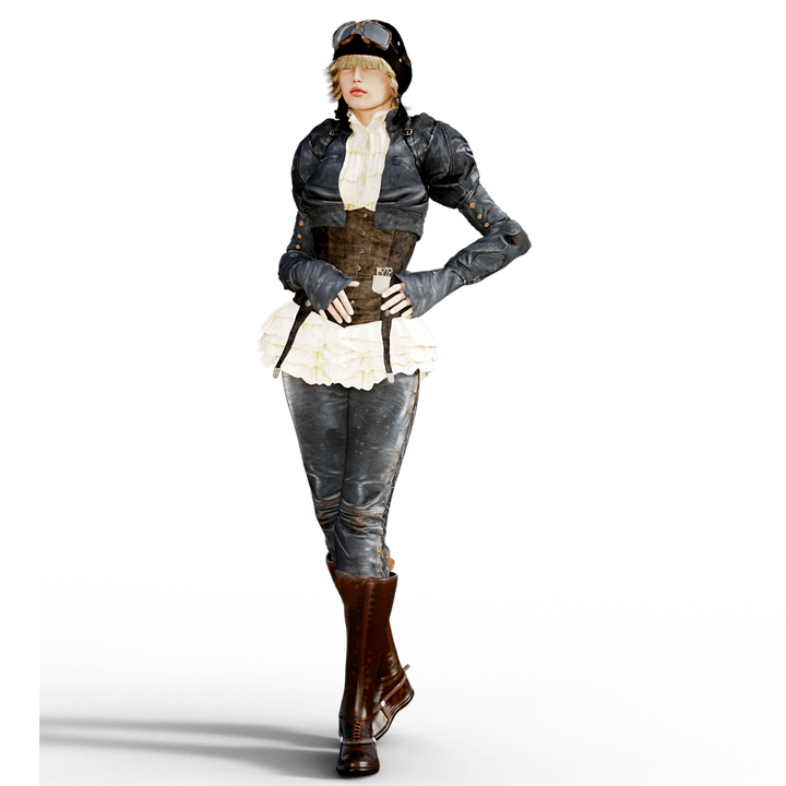 Hd Girl Wallpapers 1080p Download Kostenlose Illustration Frau Steampunk Fantasie