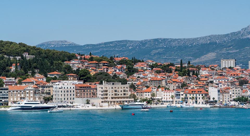 Rose Flower Wallpaper Hd Free Download Free Photo Split Croatia Shore Boats Free Image On