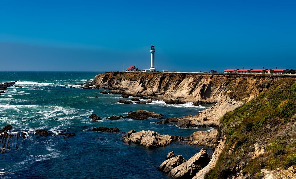 Glass Animals Wallpaper Free Photo Point Arena Lighthouse Light Free Image On