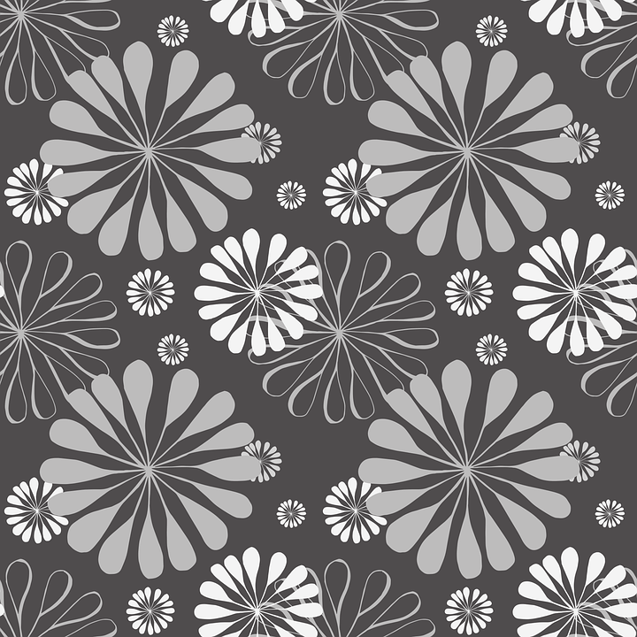 Fall Daisy Wallpaper Floral Pattern Background 183 Free Vector Graphic On Pixabay