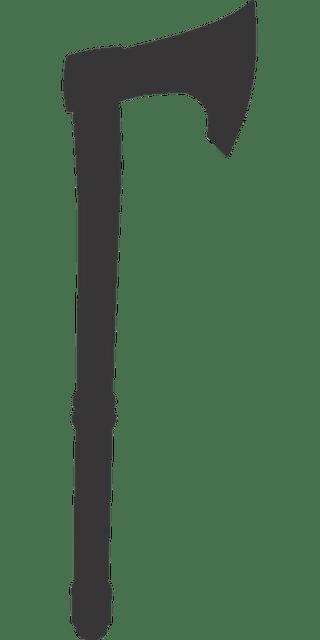 Hatchet Girl Wallpaper Battle Axe Silhouette 183 Free Vector Graphic On Pixabay