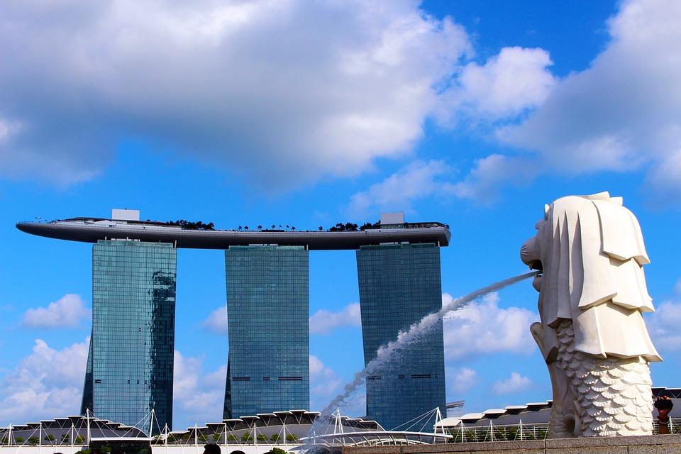 Singapore Wallpaper Hd 무료 사진 머 라이언 마리나 베이 샌즈 호텔 싱가포르 Pixabay의 무료 이미지 1652629