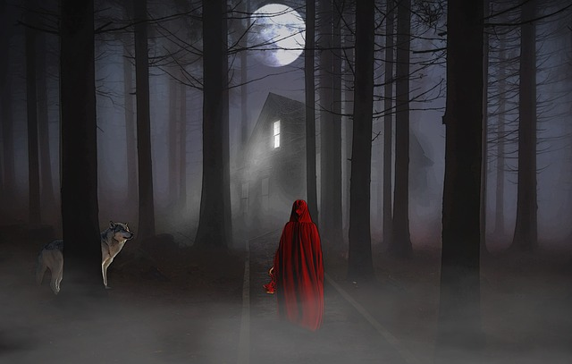 Fantasy Beautiful Girl Wallpaper Full Moon Forest Woman 183 Free Image On Pixabay