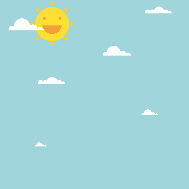 Animated Beautiful Girl Wallpaper Free Vector Graphic Day Sun Cloud Summer Sunny Free