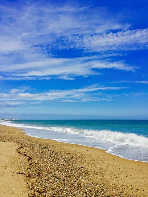 Blue Apple Wallpaper Iphone Beach Sky Sea Rhode 183 Free Photo On Pixabay