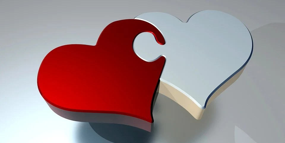 Puzzle Heart Love Two - Free image on Pixabay