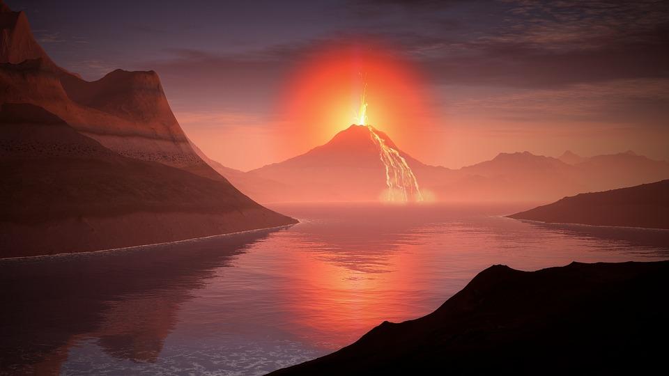 Fall Coffee Wallpaper Volcano Lava Landscape 183 Free Image On Pixabay