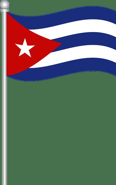 Car Gif Wallpaper Flag Of Cuba World 183 Free Vector Graphic On Pixabay