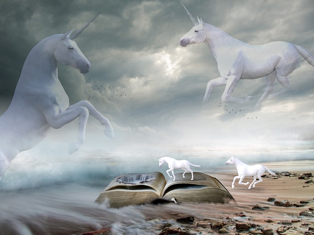 Mystical Creatures In The Fall Wallpaper Unicorns Sea Landscape 183 Free Image On Pixabay