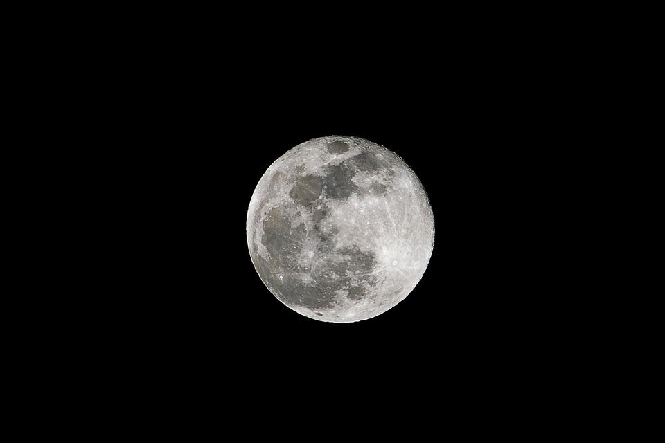 Die Wallpaper With Quotes Kostenloses Foto Mond Bei Nacht Vollmond Mond
