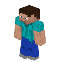 Minecraft Steve Transparent