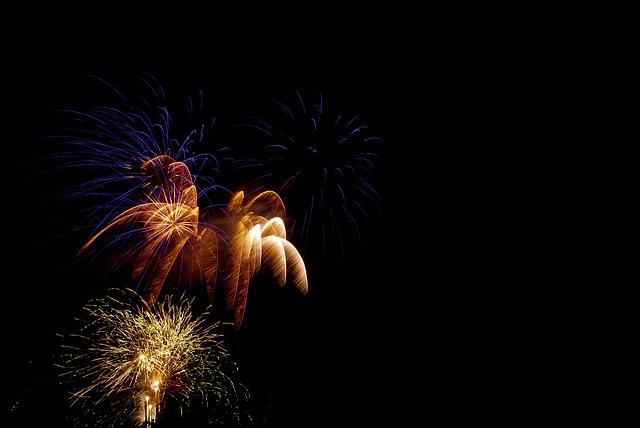 Animated Happy Birthday Wallpaper Free Download Free Photo Fireworks Celebration Holiday Free Image