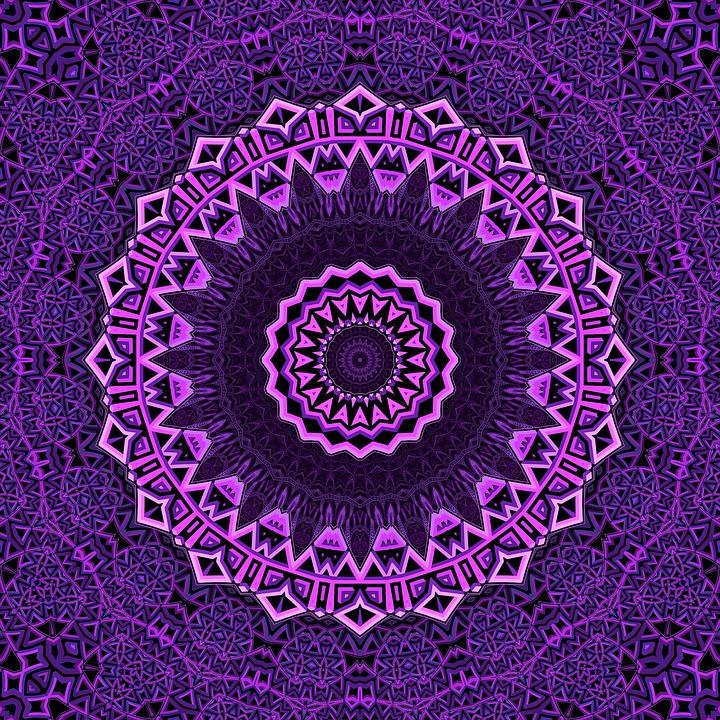 Animated Desktop Wallpaper Hd Mandala Purple Mandalas 183 Free Image On Pixabay