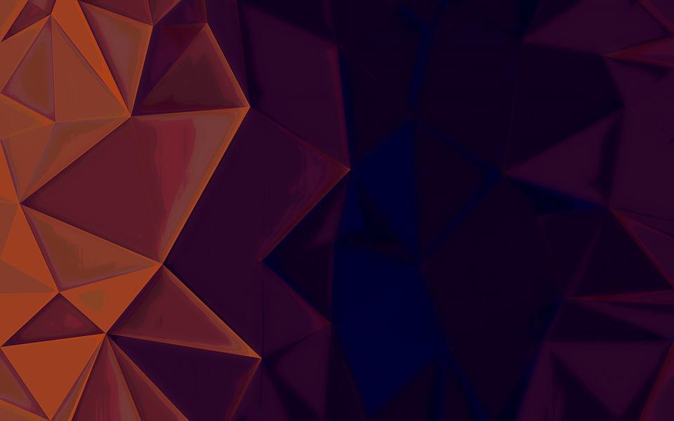 Dark Background Triangles - Free image on Pixabay