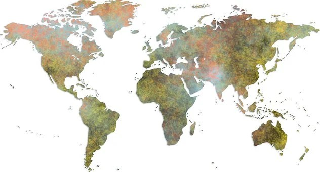 1,000+ Free World Map Images  Photos - Pixabay
