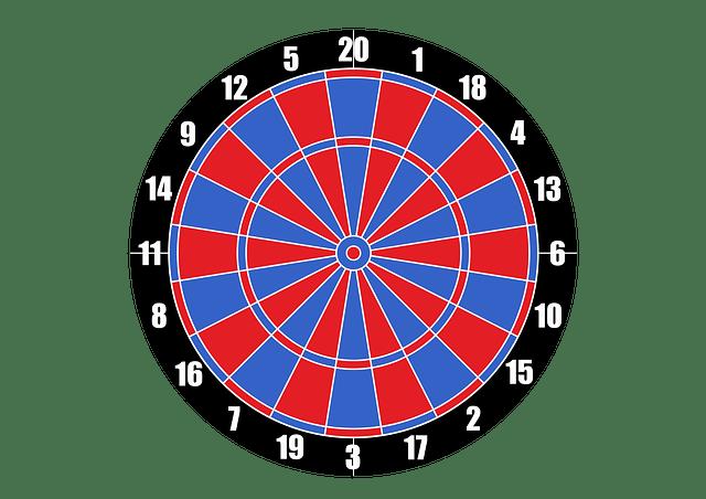 3d Blue Sky Wallpaper Vector Dartboard Target Darts 183 Free Vector Graphic On Pixabay
