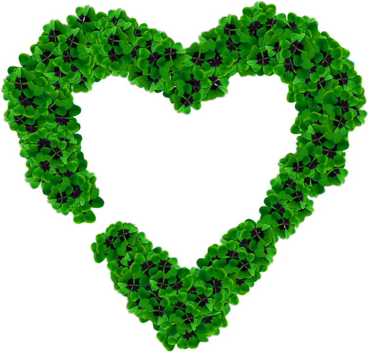 Marcos De Cuadro Heart Clover Png · Free Image On Pixabay