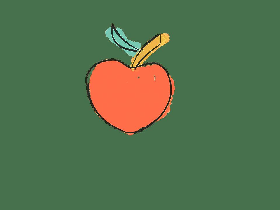 Cute Autumn Wallpaper Apple Doodle Fruit 183 Free Image On Pixabay
