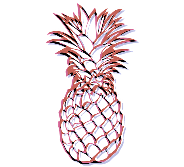 Free 3d Spring Wallpaper White Pineapples Fruits 183 Free Image On Pixabay