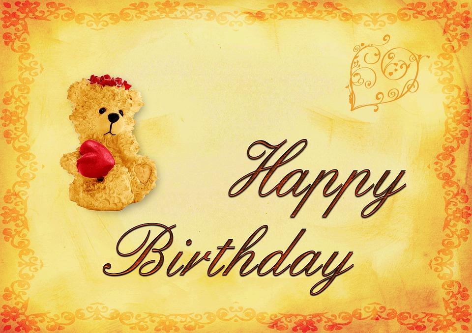 Birthday Background Card · Free image on Pixabay - birthday backround