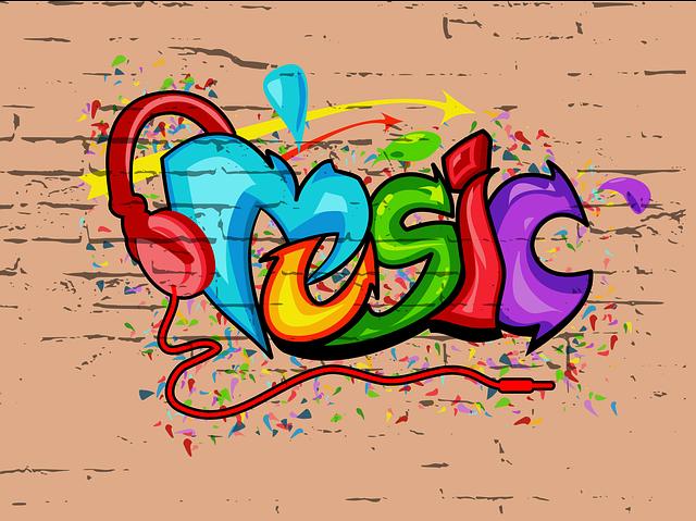 Guitar And Girl Wallpaper Graffiti Music Urban 183 Free Vector Graphic On Pixabay