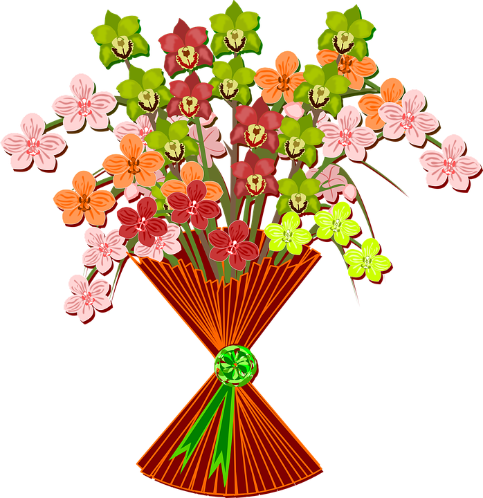 Free Country Girl Wallpaper Free Downloads Bouquet Clip Art Flor 183 Free Vector Graphic On Pixabay