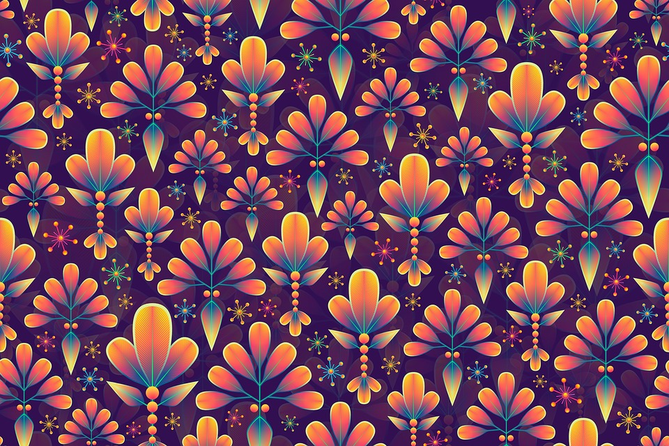 Beautiful Face Girl Wallpaper Abstract Background Floral Pattern 183 Free Image On Pixabay