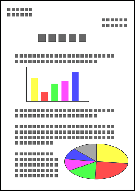 Two Person Desk Document Graph Report · Free Vector Graphic On Pixabay