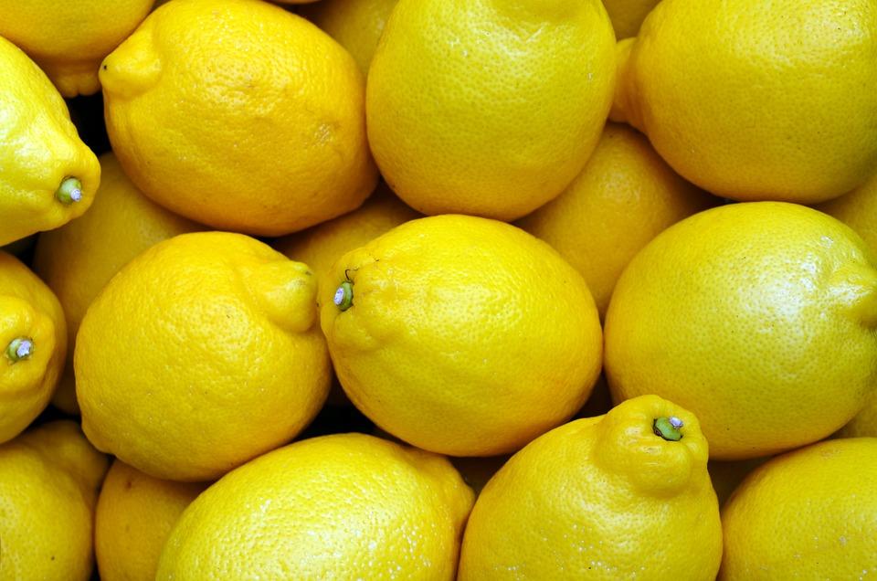 Beautiful Girl Pictures Wallpaper Free Photo Lemons Yellow Food Fruit Fresh Free